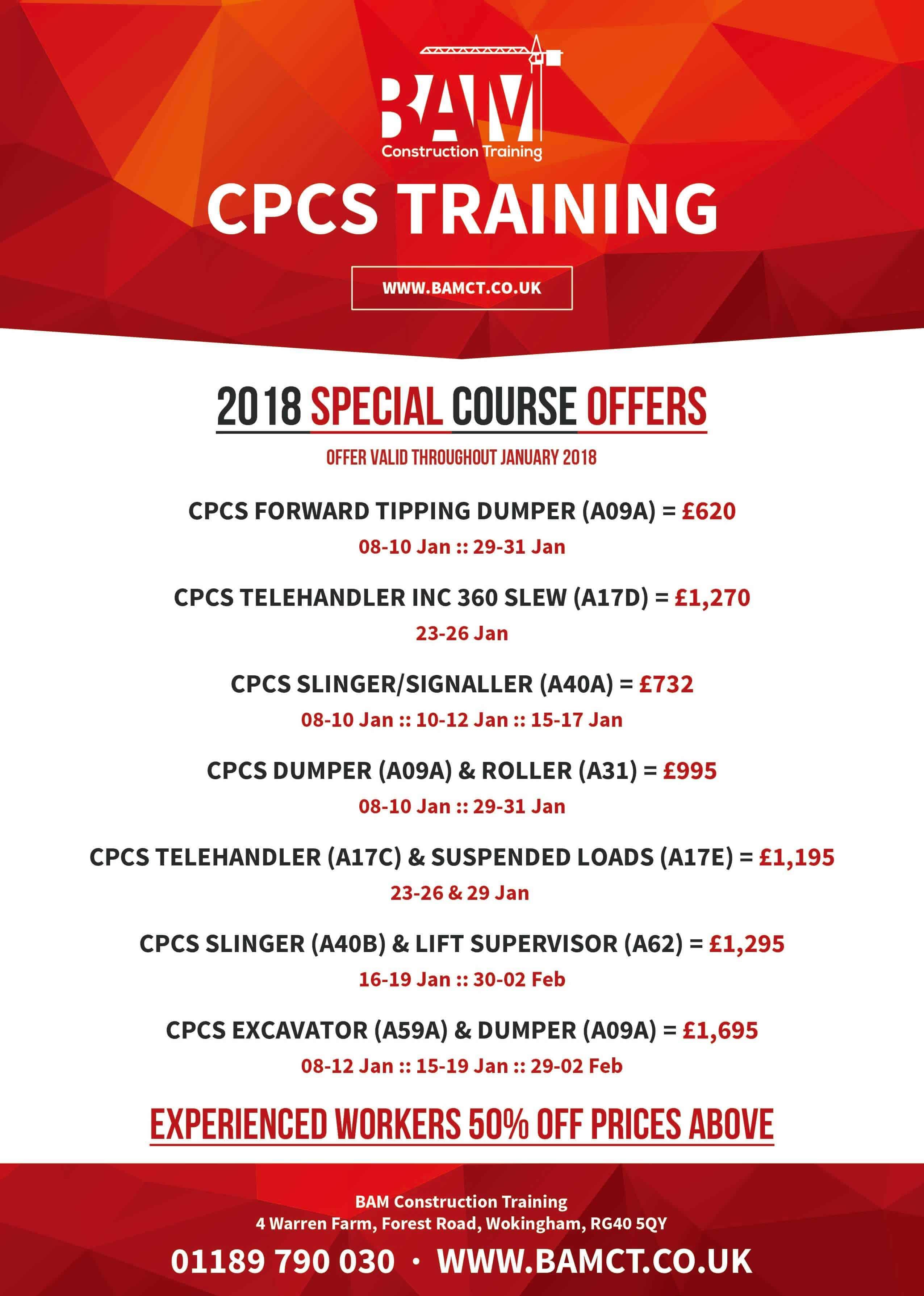 CPCS Specials