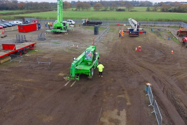360 Telehandler Slew Training