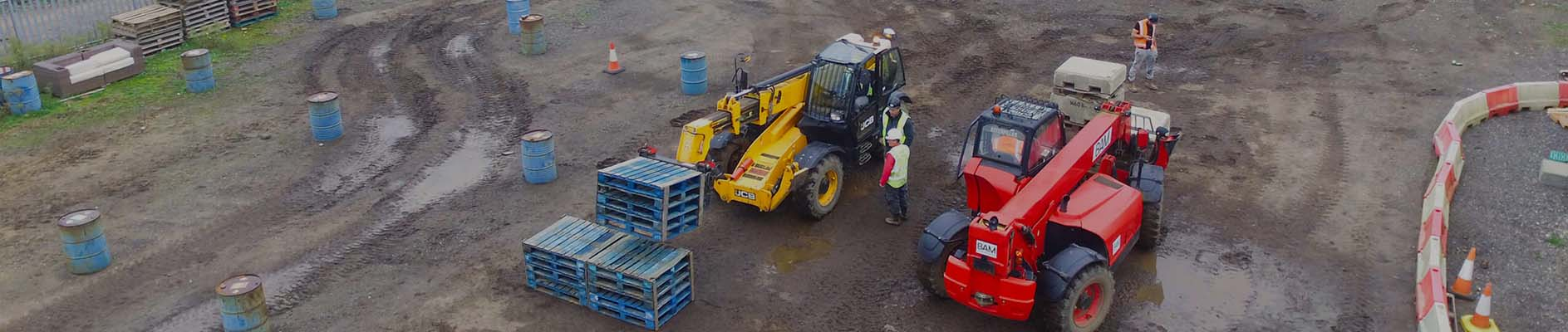 telehandler training, Telehandler Training – The BAMCT guide to getting qualified